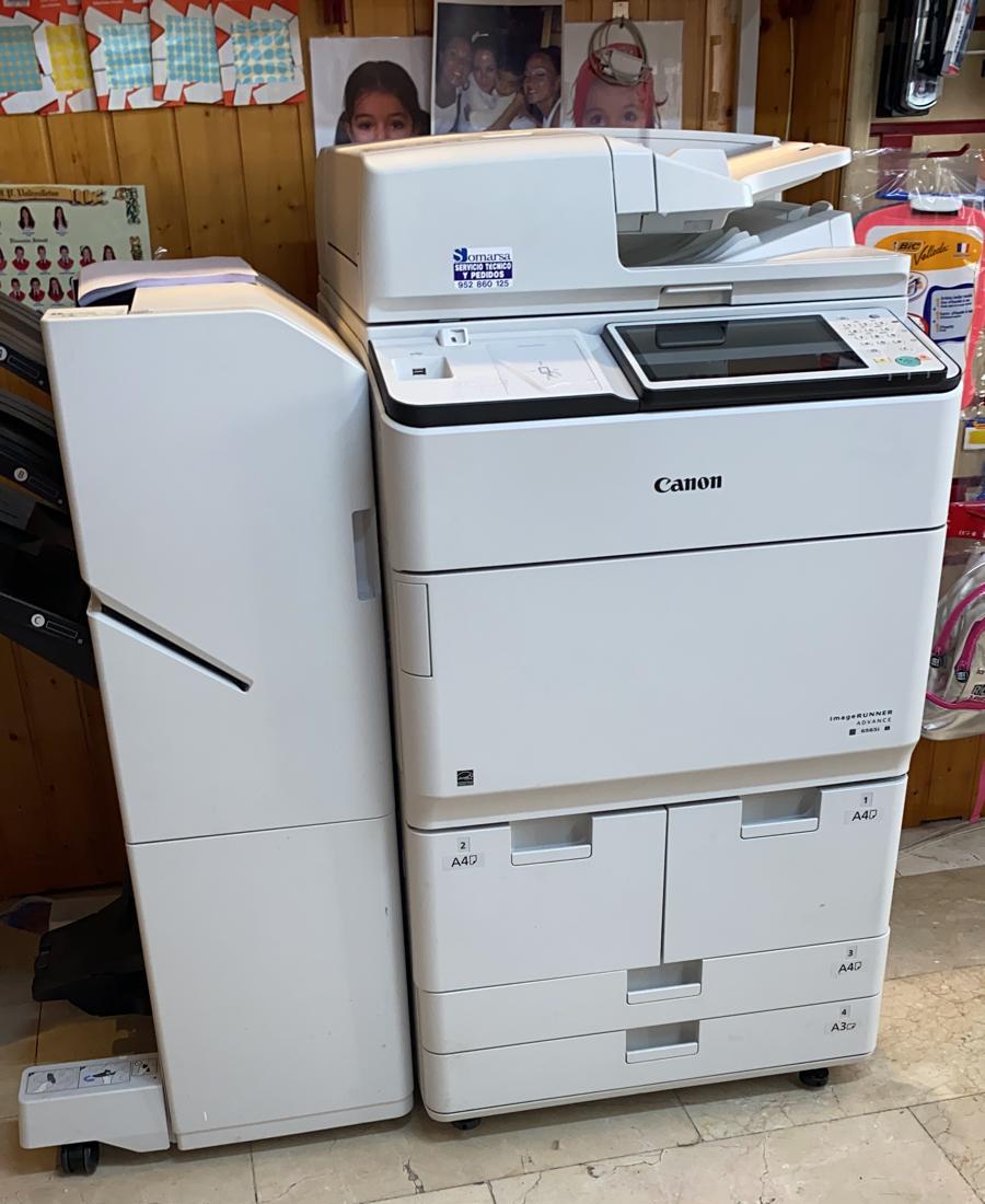 Maquina de copiado